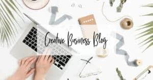 Website Business Blog for creative business and entrepreneurs
