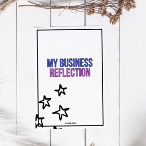 Business Reflection Workbook and Guided Meditation