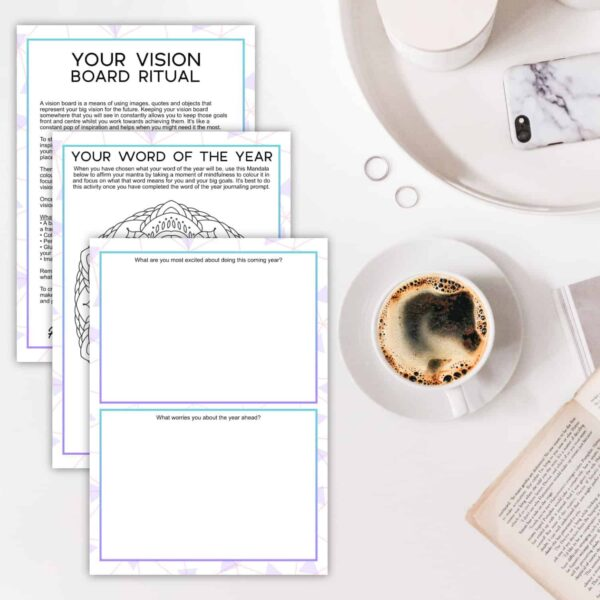 Vision Board Workbook