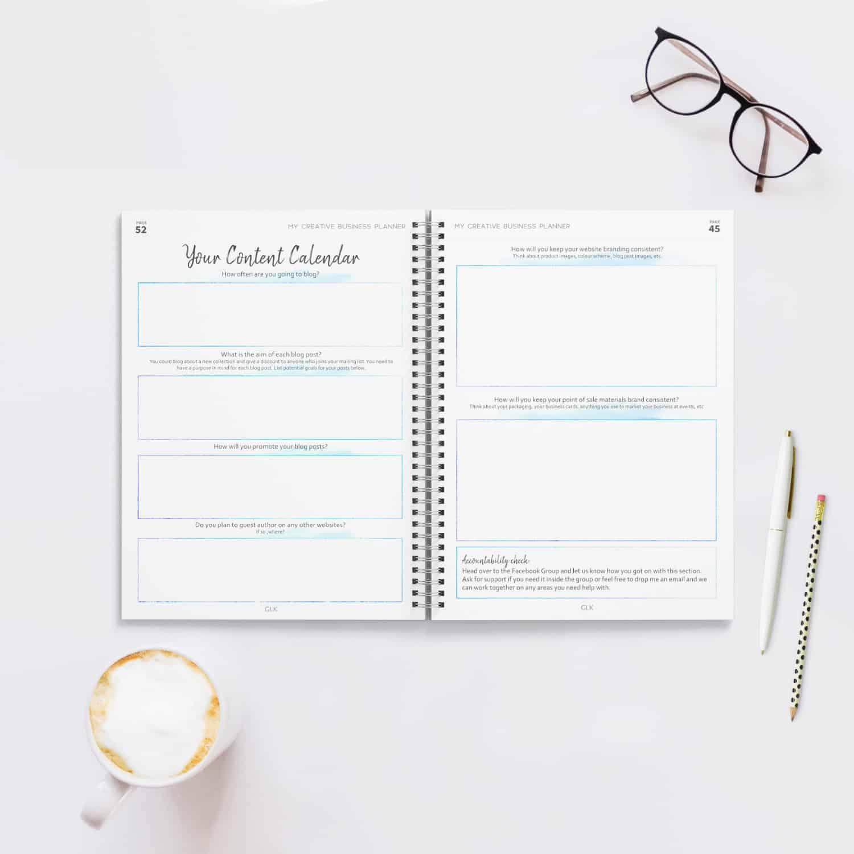 Etsy Business Planner