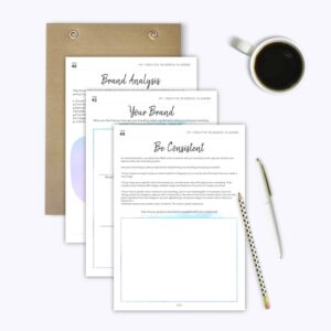 Etsy Business Planner