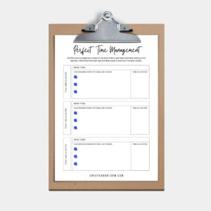 Free Productivity Planner Download
