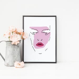 Beauty Pop Art Print