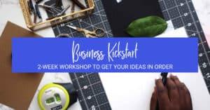 Etsy Business Idea Workshop