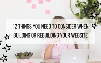 12 website design considerations to help you build your website